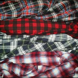 90's Inspired Plaid Flannel Bundle